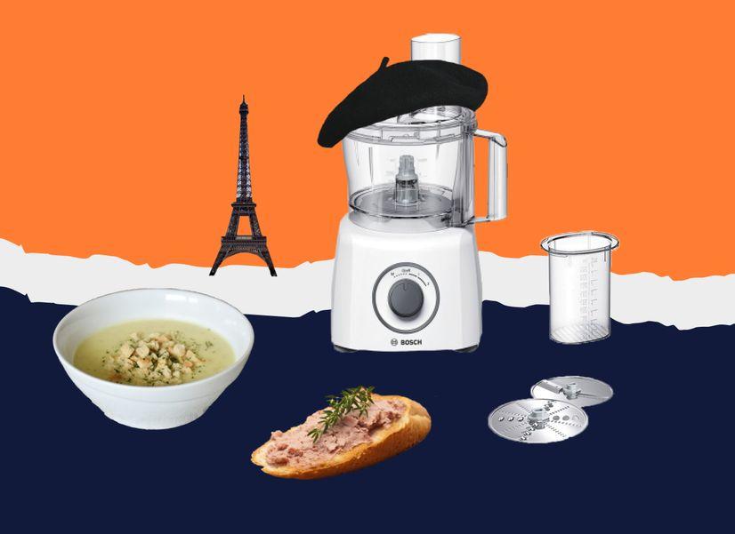 Луковый суп, паштет, брусничное мороженое и один комбайн