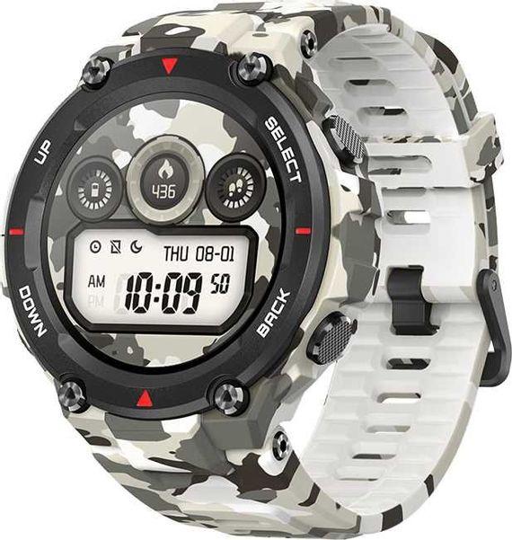 """Смарт-часы AMAZFIT T-Rex,  1.39"""",  камуфляж / камуфляж"""
