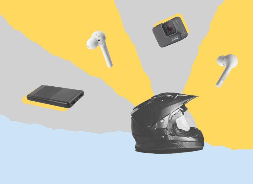 5 гаджетов для мотоциклистов: сэкономить на гарнитуре и зарядить телефон