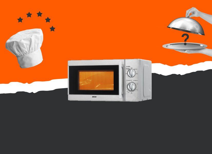 Можно ли готовить еду в микроволновке и вкусно ли это: проверяем