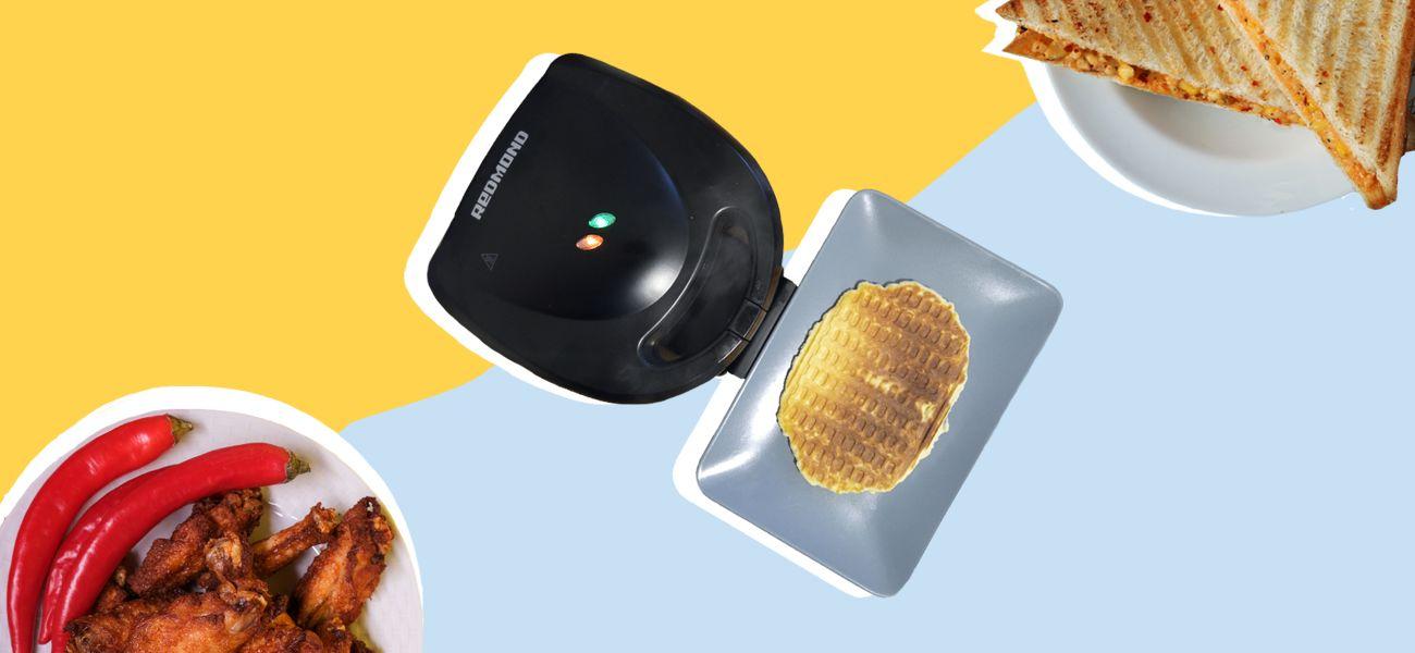 Что умеет мультипекарь: готовим вафли, сэндвичи, куриные крылья
